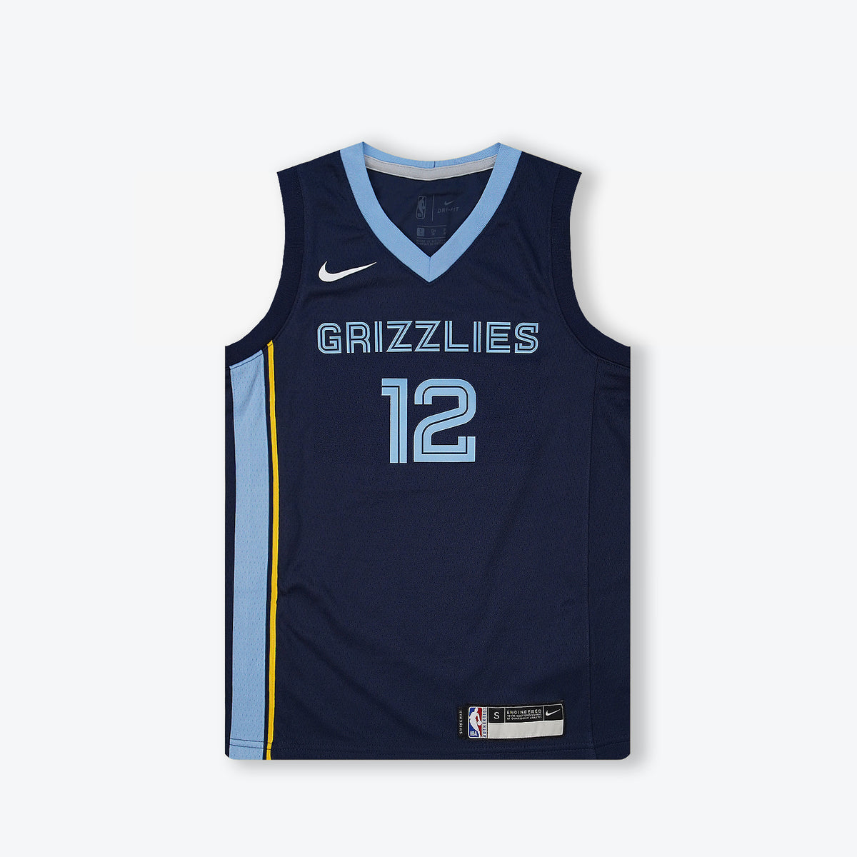 Ja Morant Memphis Grizzlies Icon Edition Youth Swingman Jersey - Navy