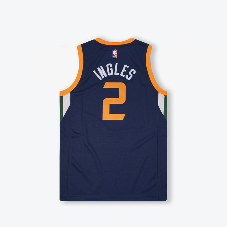 Joe Ingles Utah Jazz Icon Edition Youth Swingman Jersey - Navy