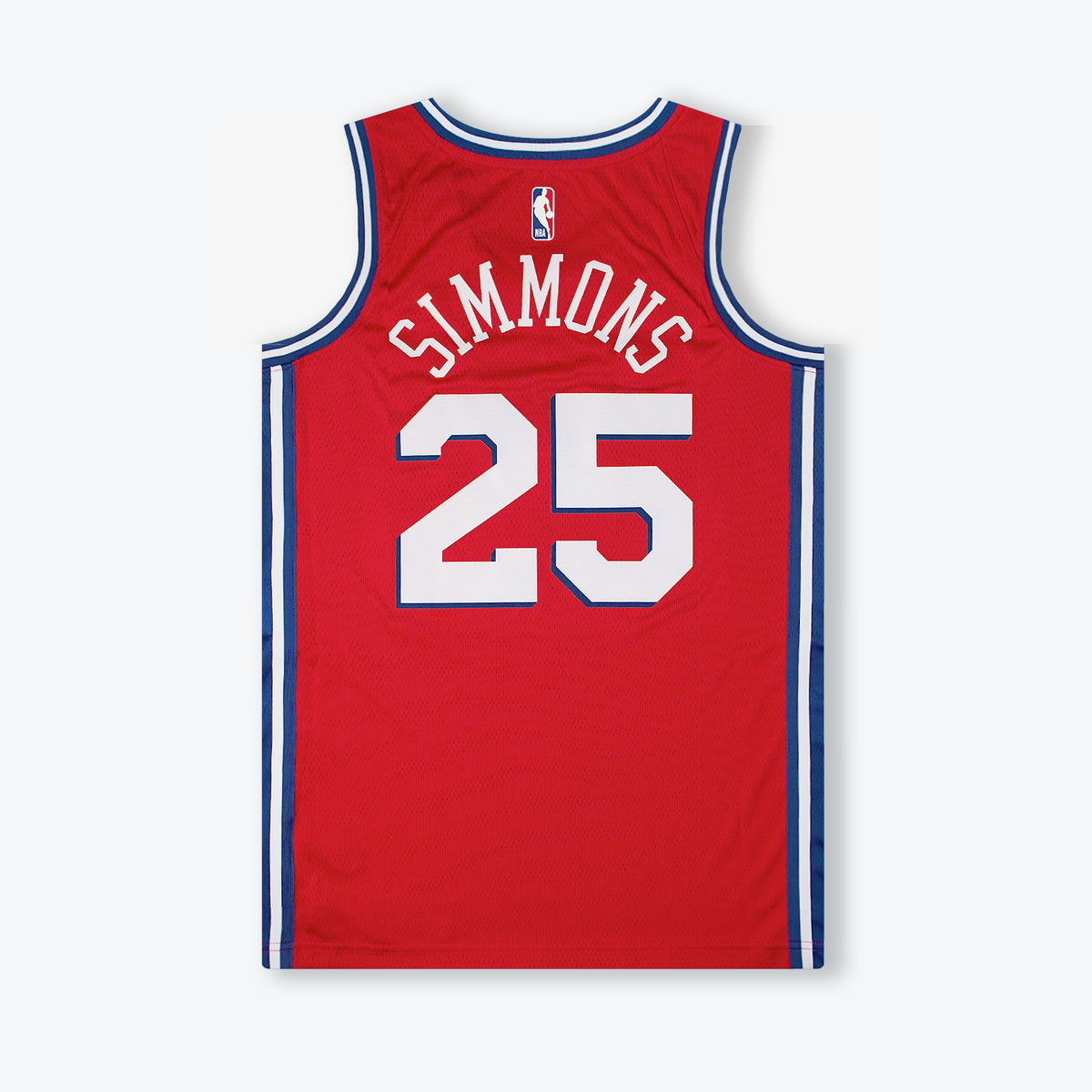 Ben Simmons Philadelphia 76ers Statement Edition Swingman Jersey - Red
