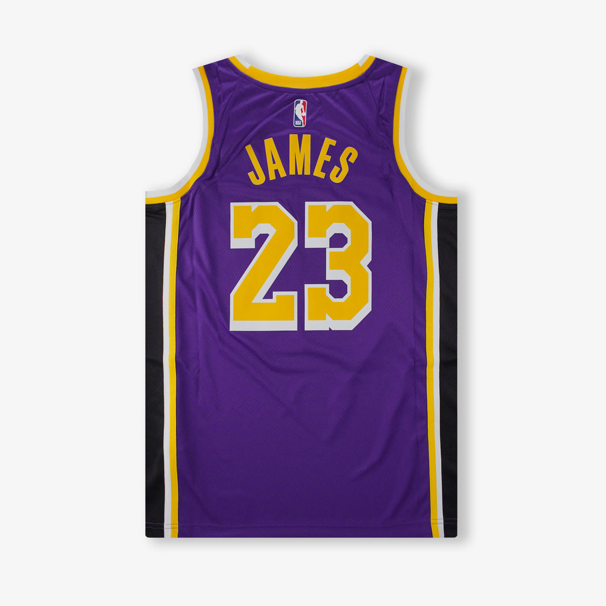LeBron James Los Angeles Lakers Statement Edition Swingman Jersey - Purple