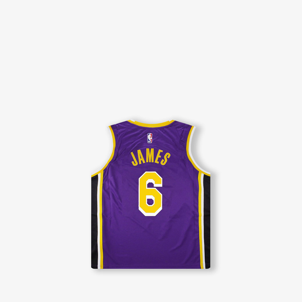 LeBron James Los Angeles Lakers Statement Edition Toddler Swingman Jersey - Purple