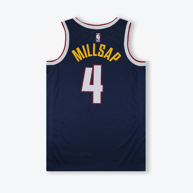Paul Millsap Denver Nuggets Icon Edition Swingman Jersey - Navy