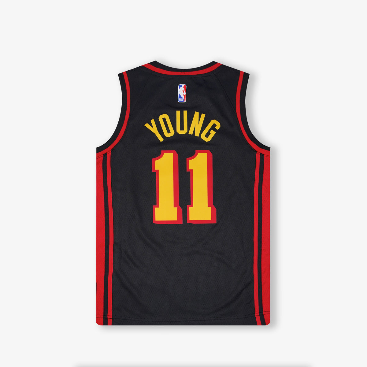 Trae Young Atlanta Hawks Statement Edition Youth Swingman Jersey - Black