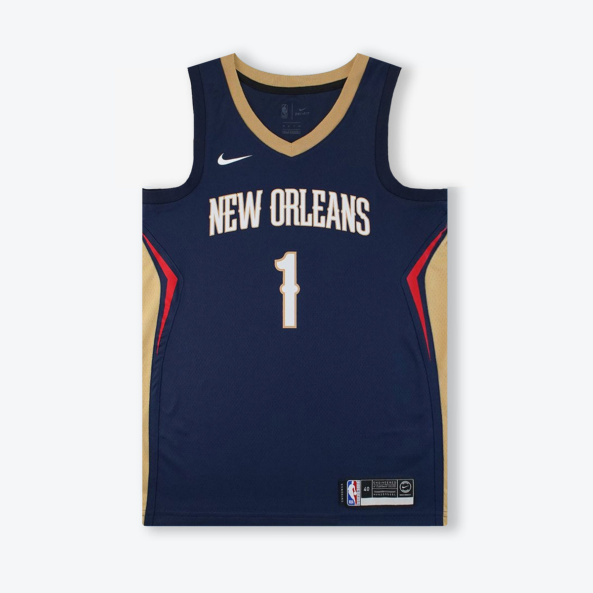 Zion Williamson New Orleans Pelicans Icon Edition Swingman Jersey - Navy