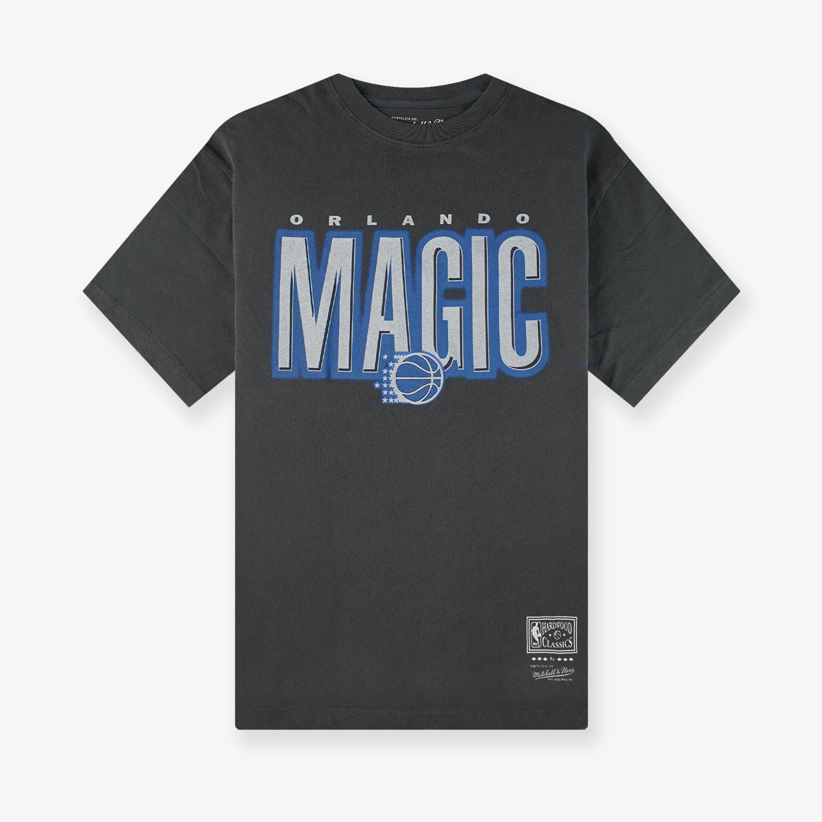 Orlando Magic Retro Blur T-Shirt - Faded Black