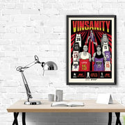 "Vince Carter Vinsanity Limited Edition 18""-24"" Serigraph Print"