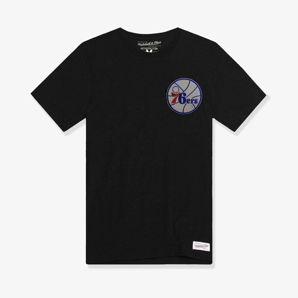 Philadelphia 76ers Left Hit Embroided T-Shirt