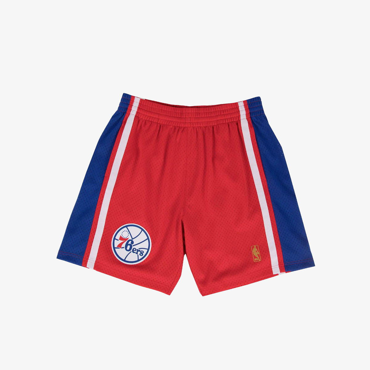 Philadelphia 76ers 96-97 HWC Swingman Shorts - Red