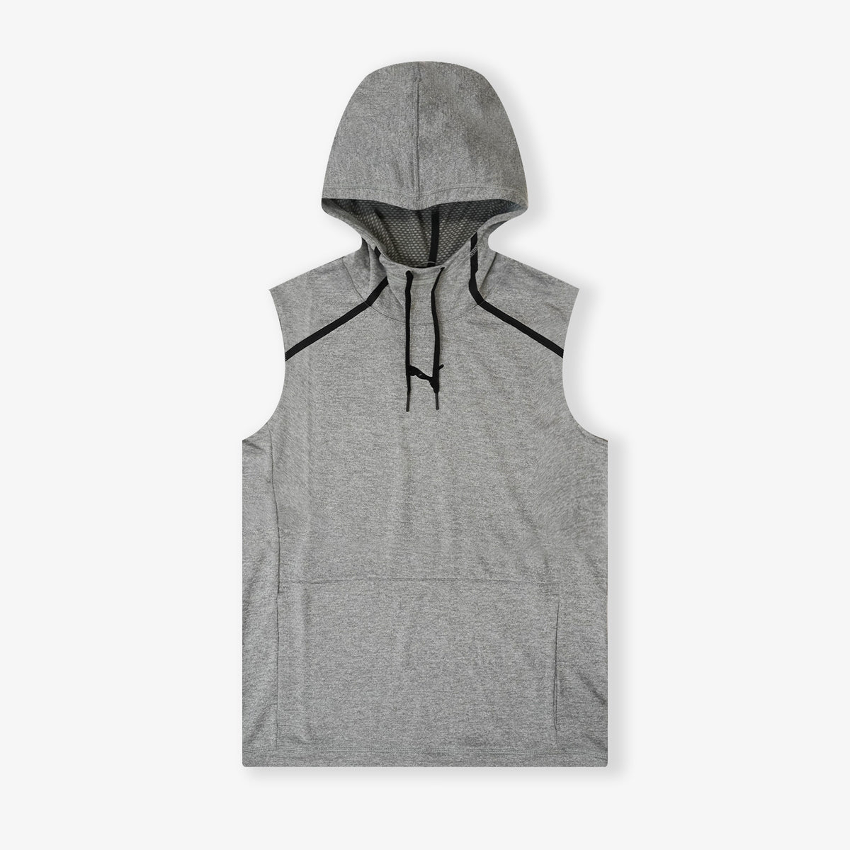 Tech Knit Training Sleeveless Hoodie - Grey