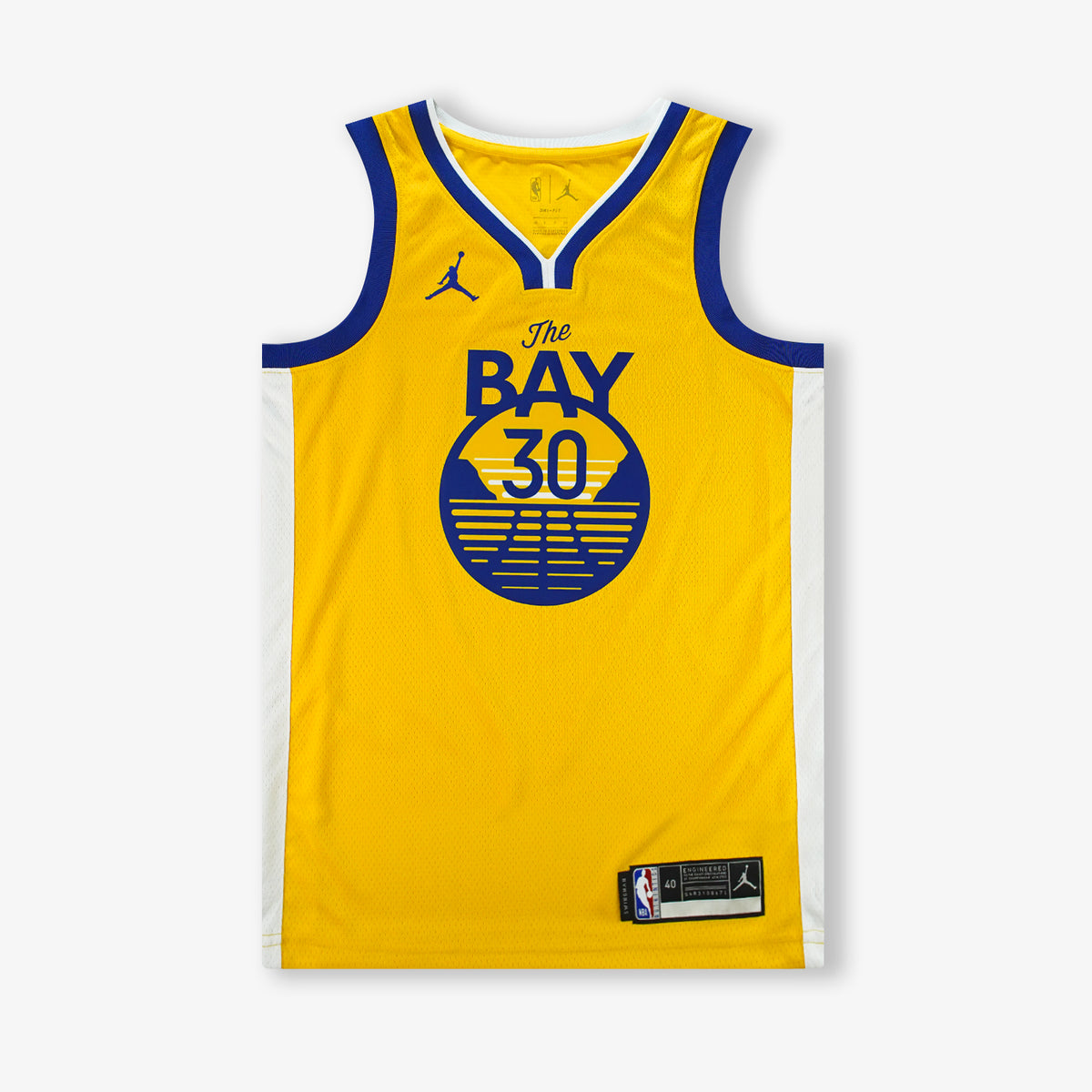 Stephen Curry Golden State Warriors Statement Edition Swingman Jersey - Yellow
