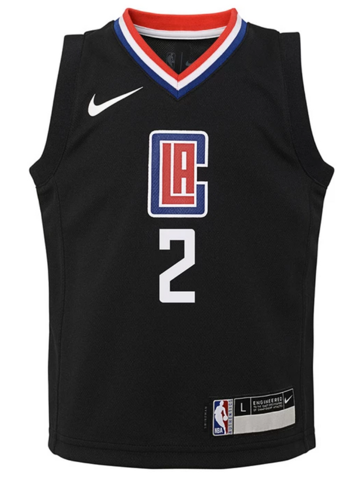 Kawhi Leonard Los Angeles Clippers Statement Edition Kids Swingman Jersey