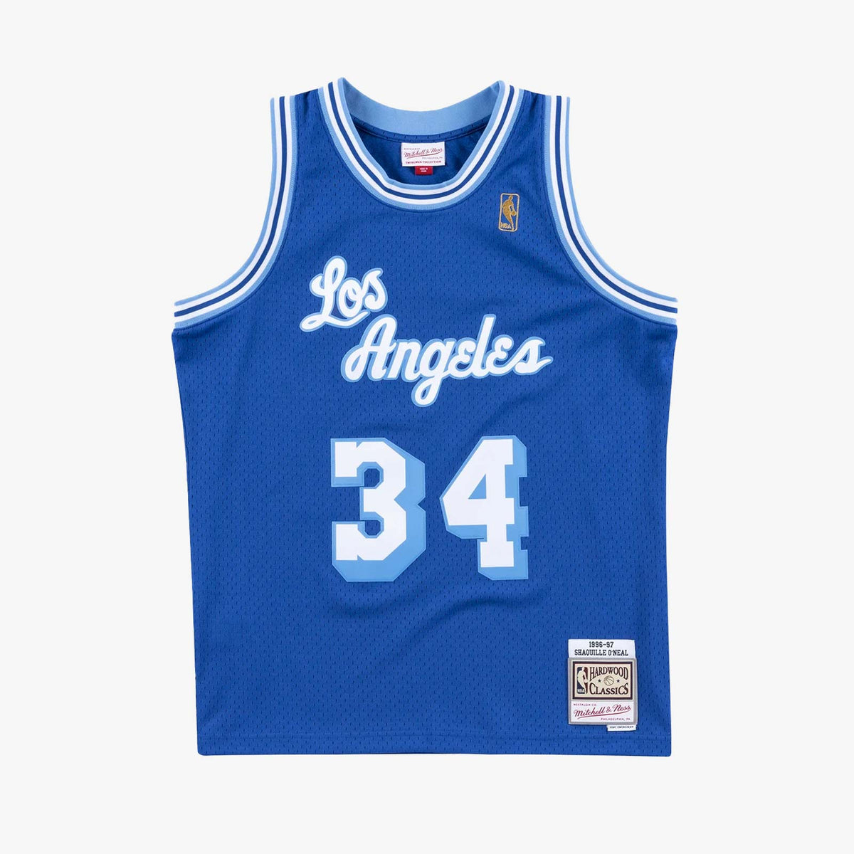 Shaquille O'Neal Los Angeles Lakers 96-97 HWC Swingman Jersey - Royal
