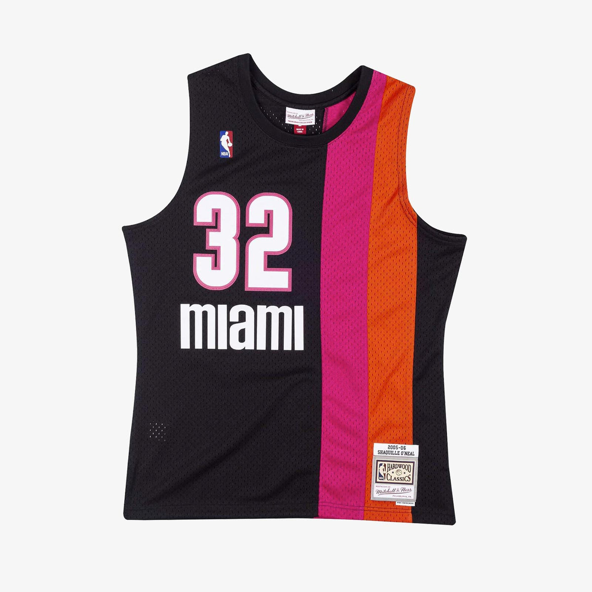 Shaquille O'Neal Miami Heat (Floridians)  05-06 HWC Swingman Jersey - Black