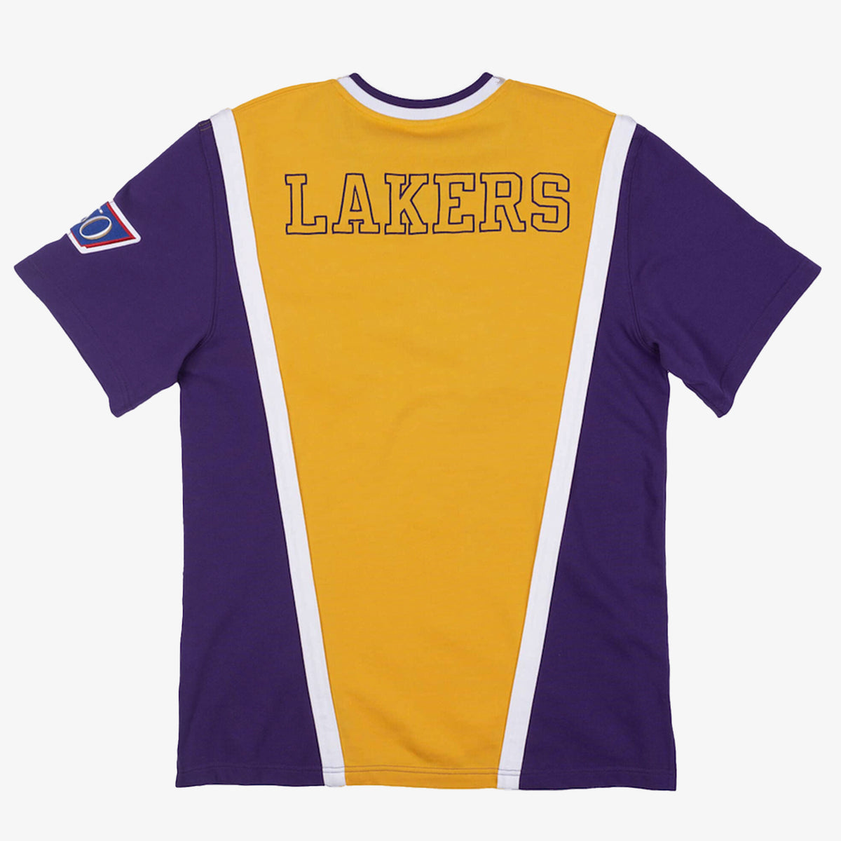 Los Angeles Lakers Home 1996-97 Authentic Shooting Shirt - Yellow