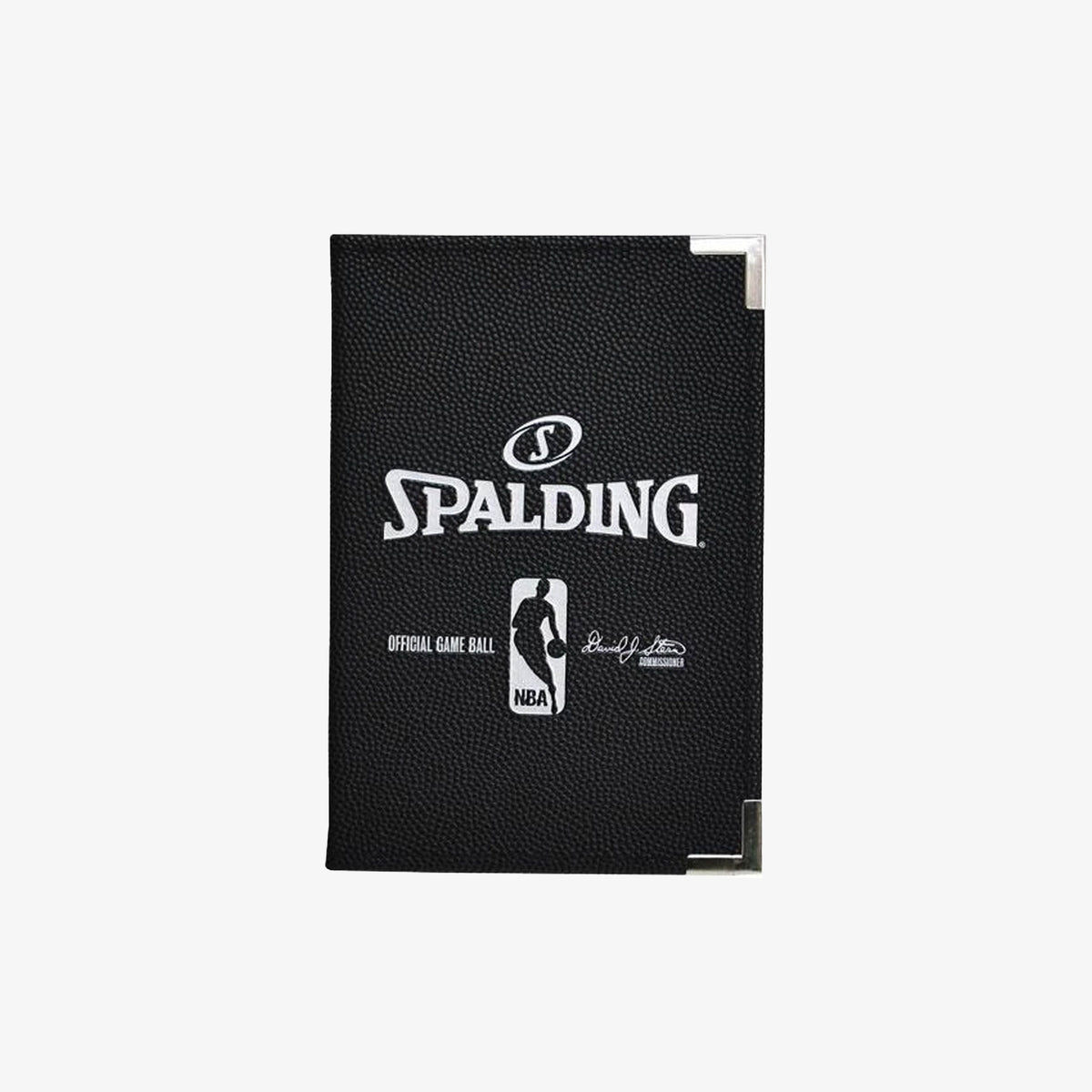 Spalding NBA A5 Folder - Black
