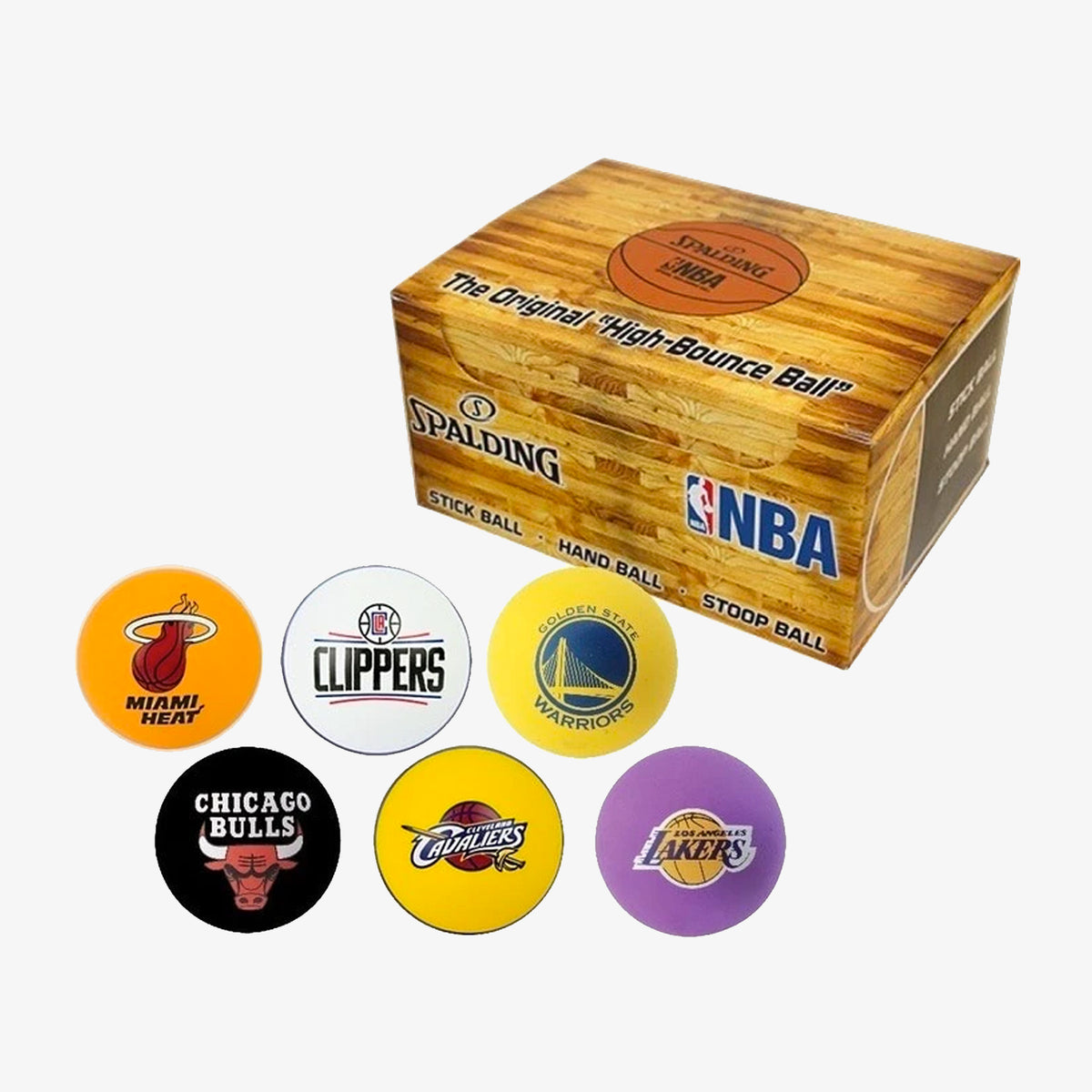 Spalding NBA High Bounce Ball - Los Angeles Clippers