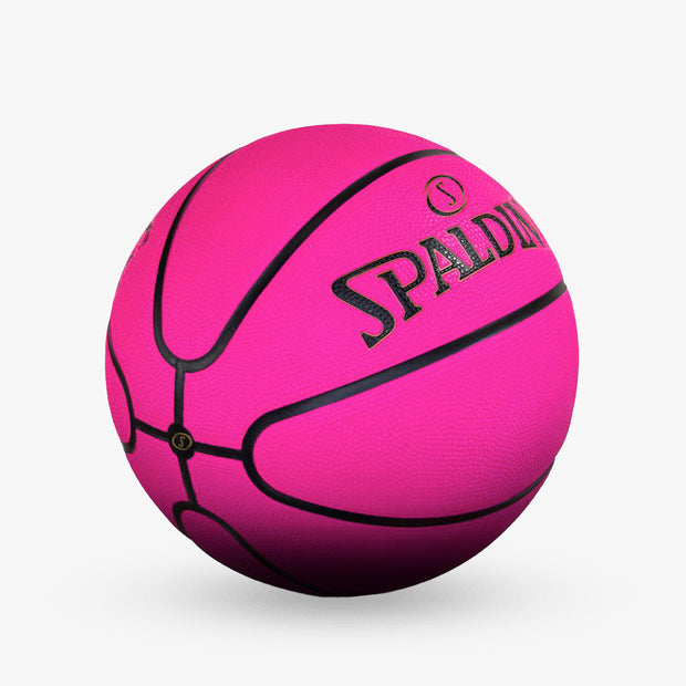 Spalding Pink Outdoor Basketball - Size 6