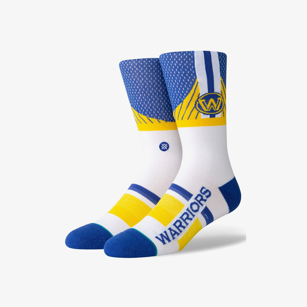 Stance Golden State Warriors Shortcut 2.0 Socks - Blue