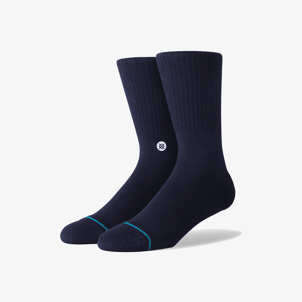 Stance Icon Athletic Crew Socks - Navy