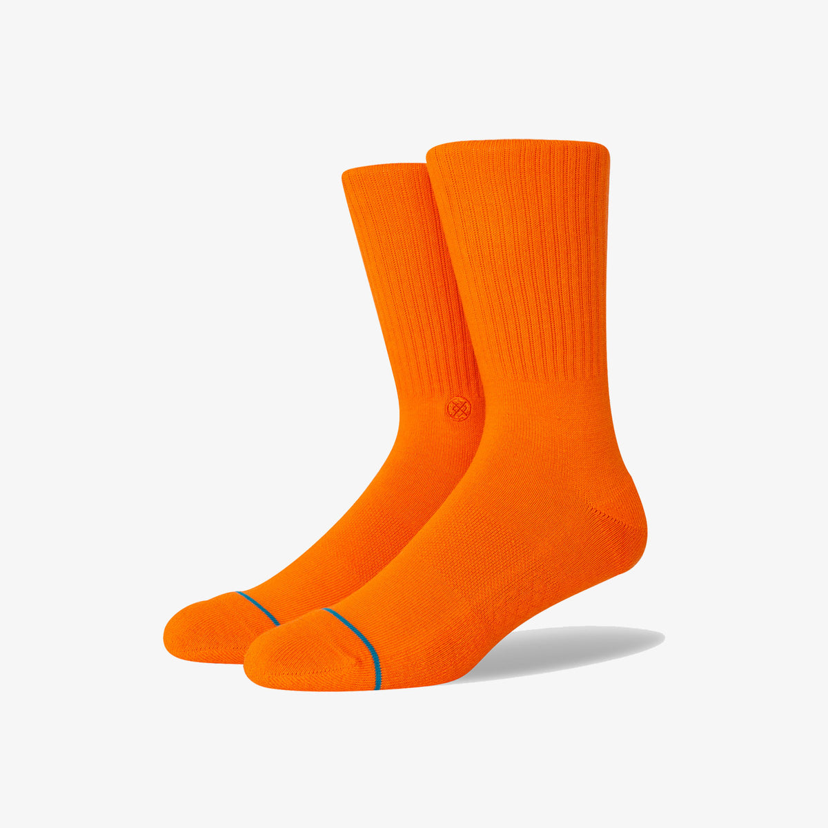 Stance Icon Athletic Crew Socks - Orange
