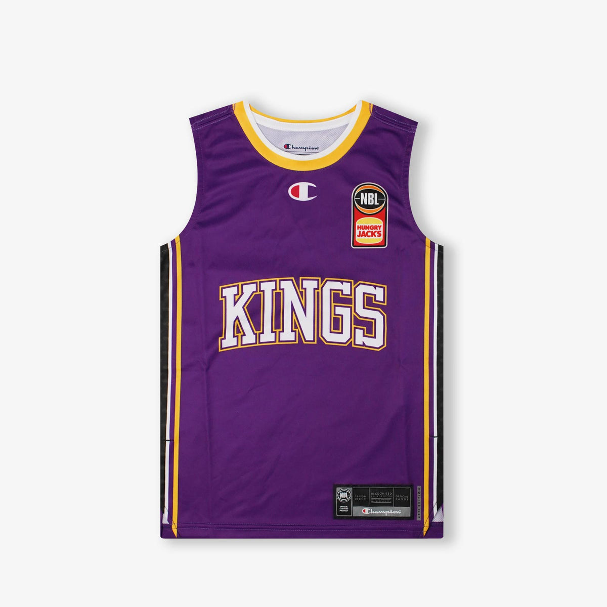 Sydney Kings NBL Home Youth Authentic Jersey - Purple