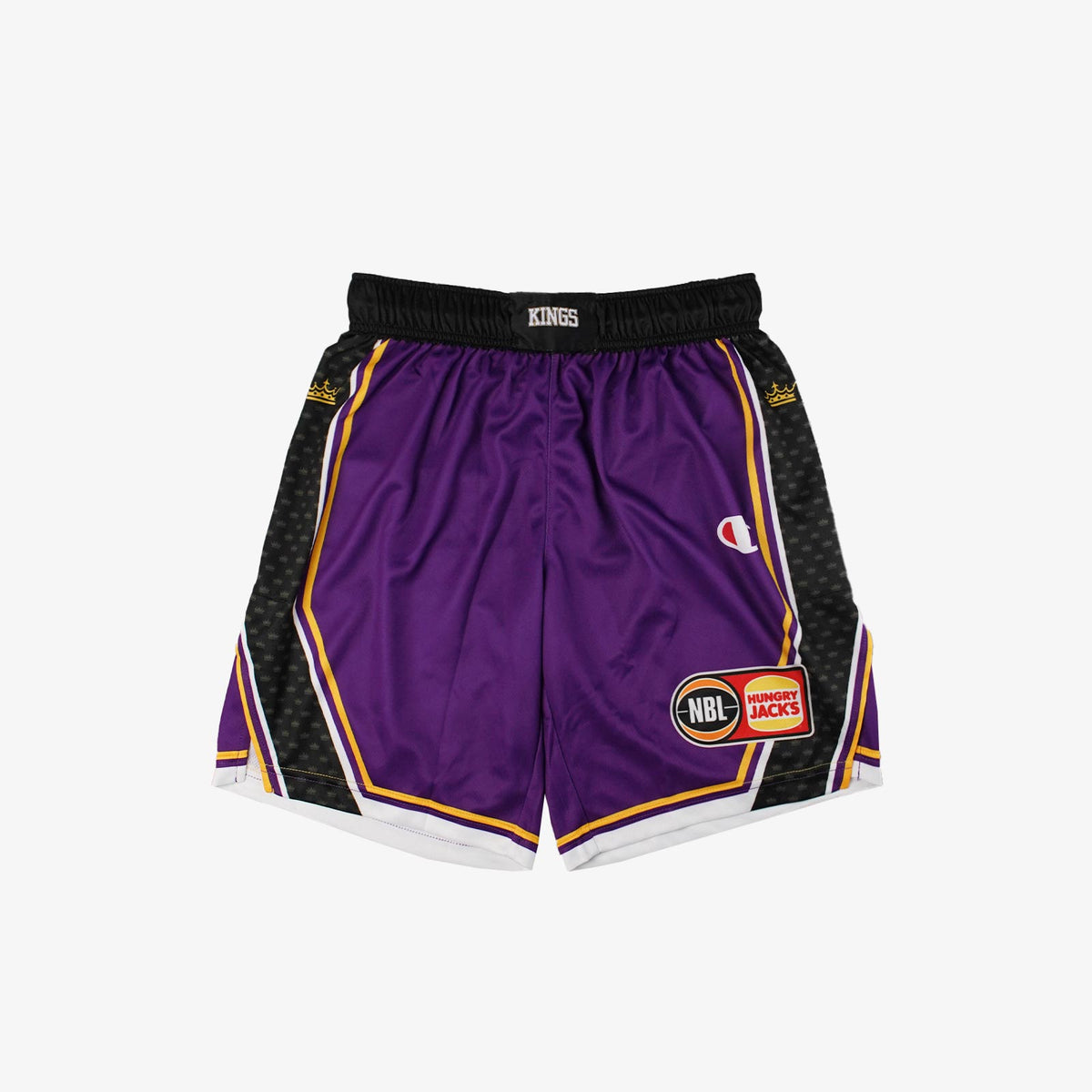 Sydney Kings NBL Home On Court Shorts - Purple