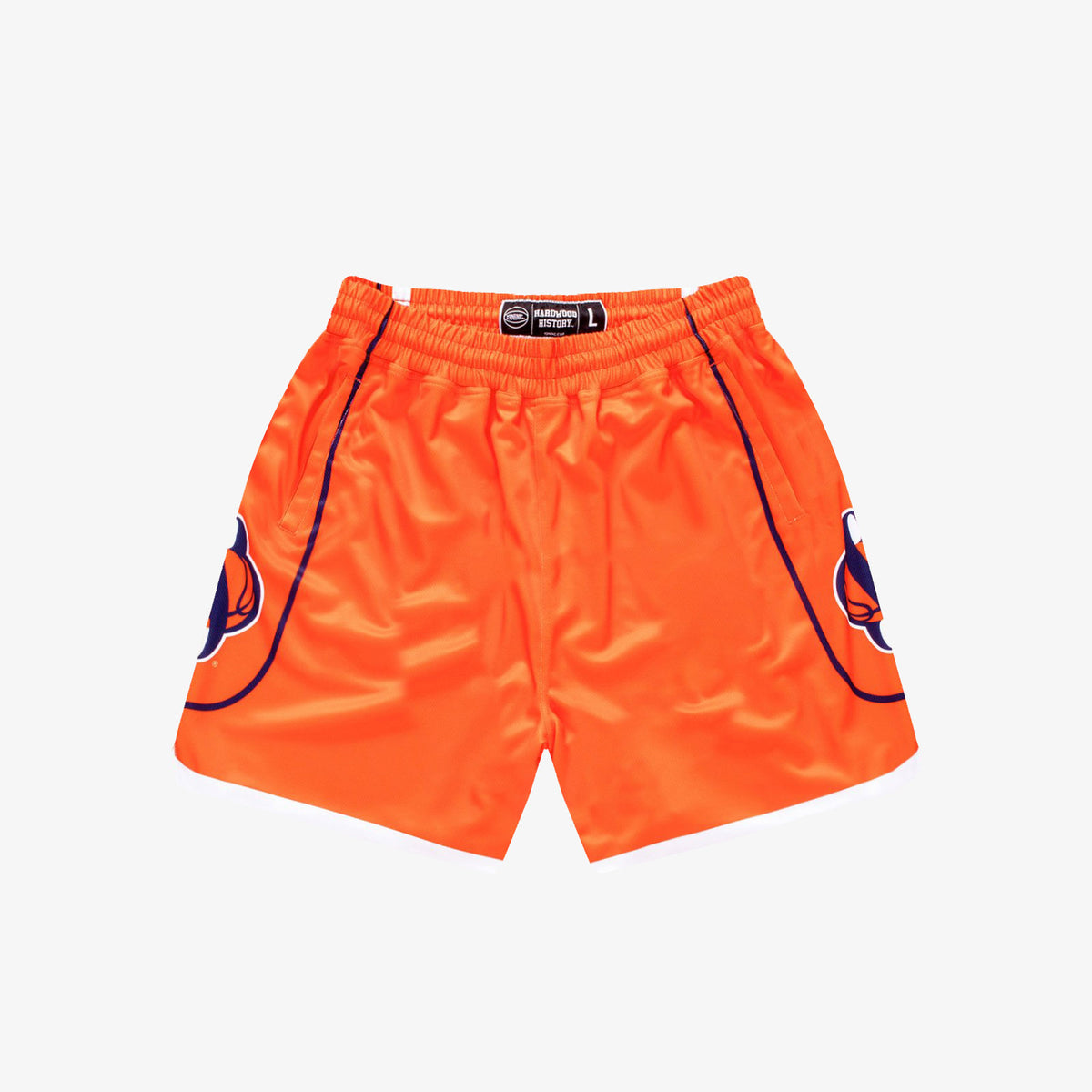 Syracuse 2002-2003 Retro College Basketball Shorts - Orange