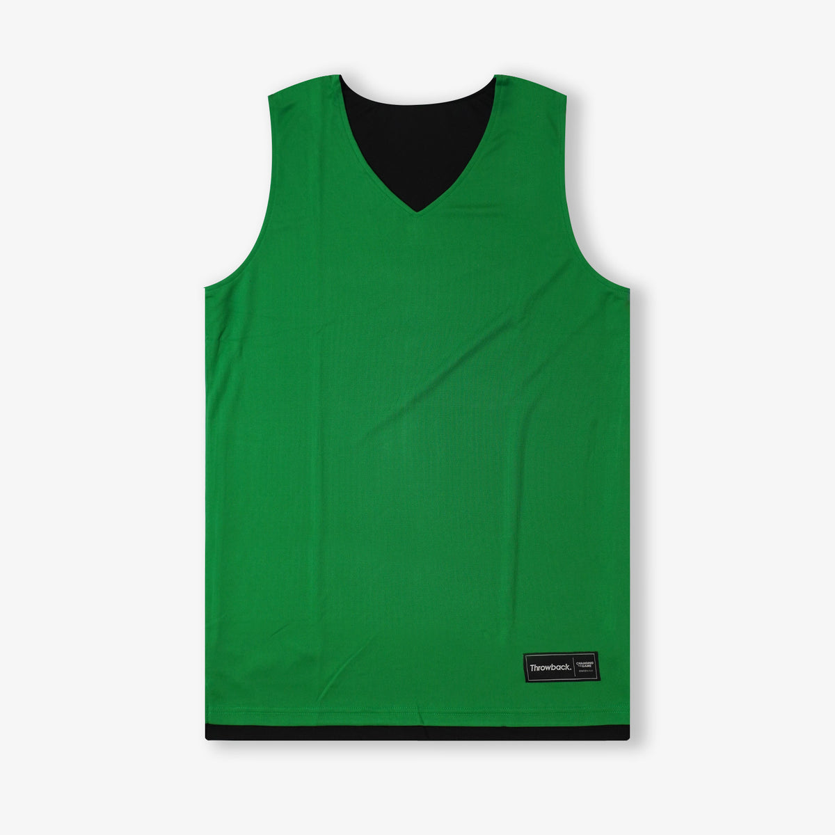 Throwback Reversible Jersey - Emerald/Black