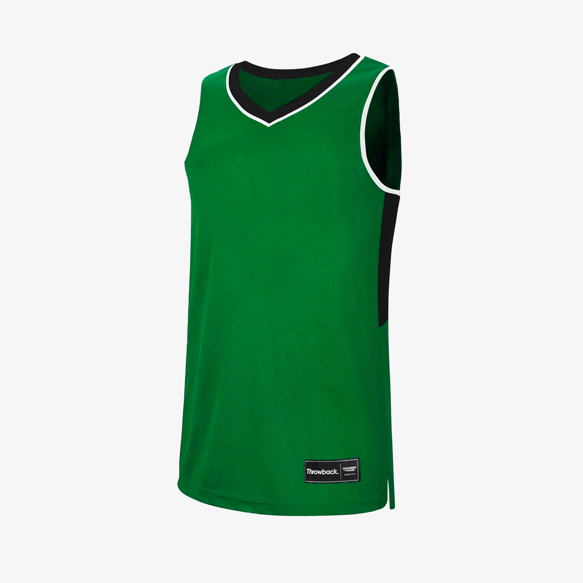 Throwback Oncourt Pro Jersey - Emerald/Black/White