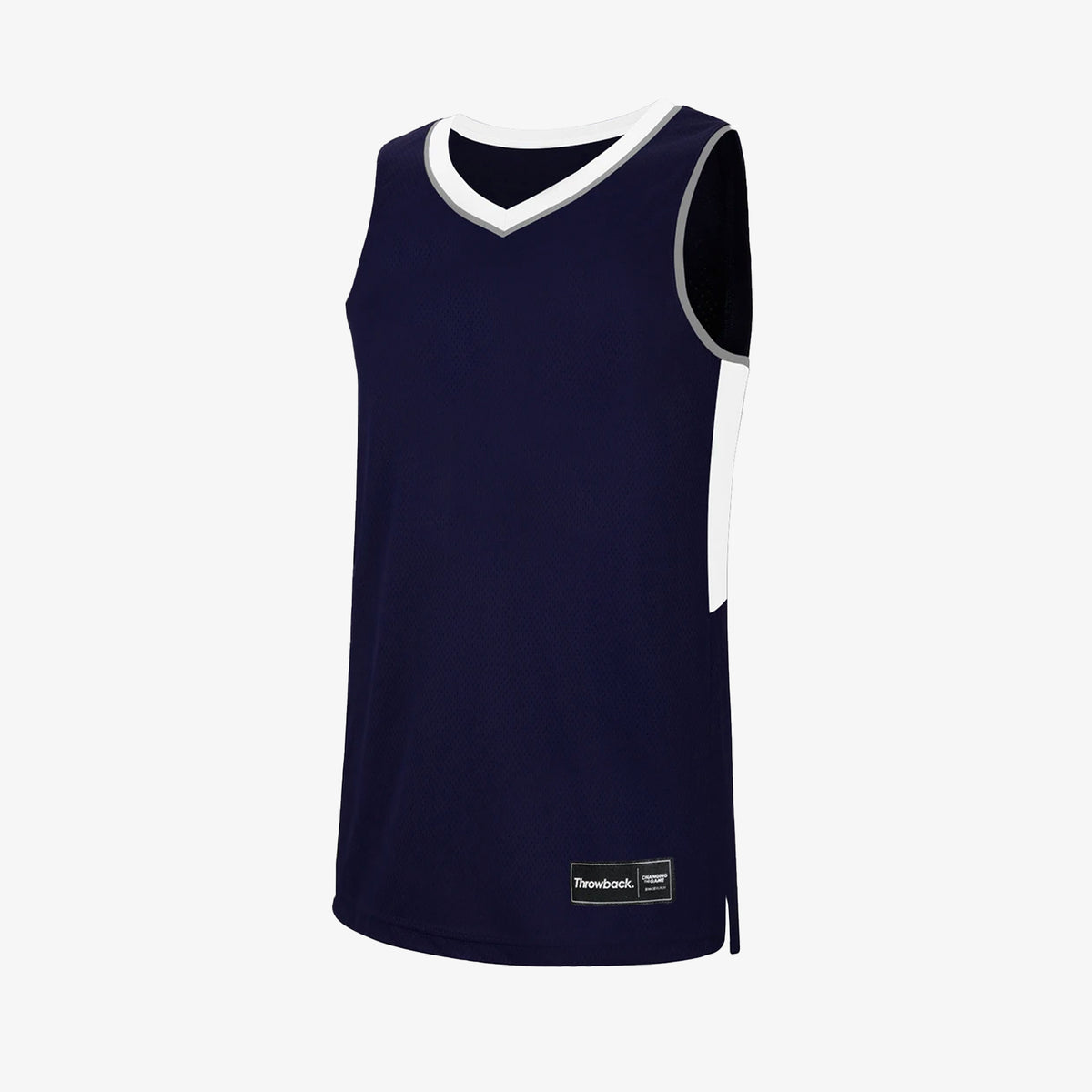 Throwback Oncourt Pro Jersey - Navy/White/Grey