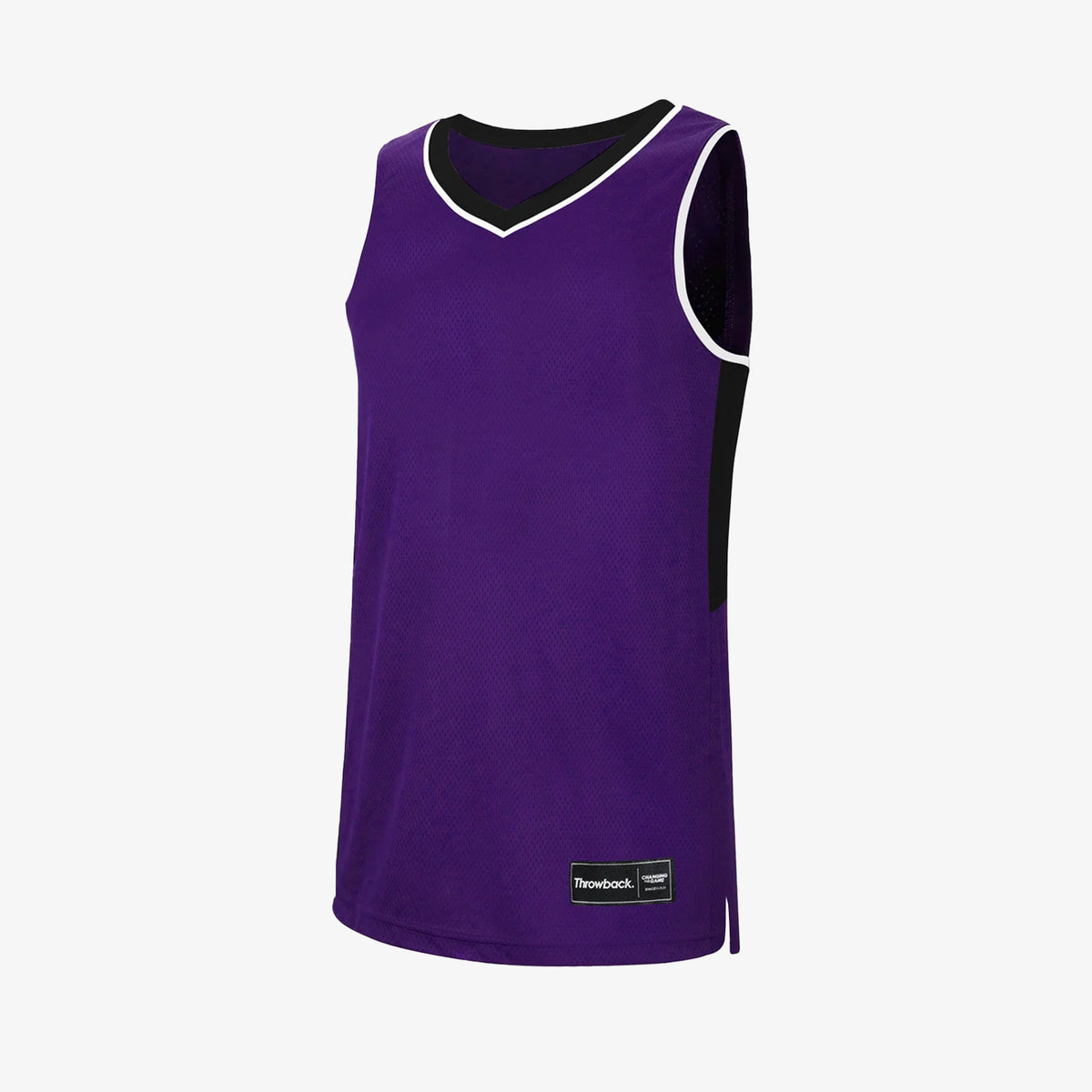 Throwback Oncourt Pro Jersey - Purple/Black/Grey