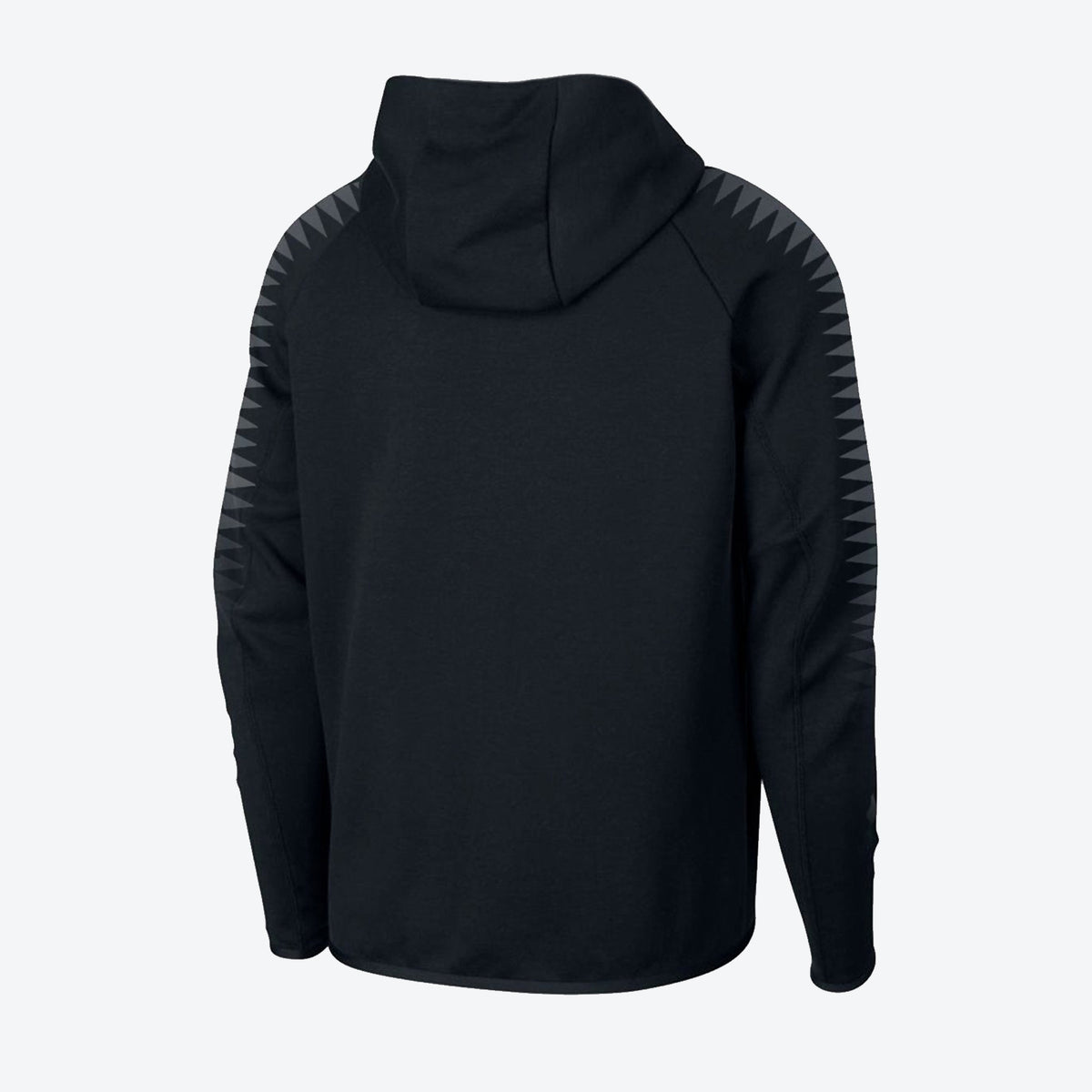 Throwback Full Zip Tech Jacket - Black