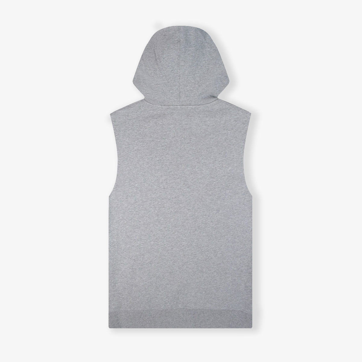 Throwback Sydney Vintage Pre-Game Cutoff Hood - Grey Marle