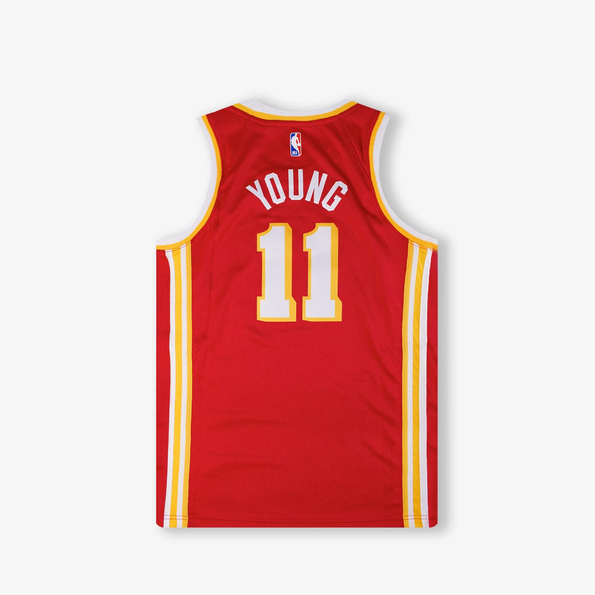 Trae Young Atlanta Hawks Icon Edition Youth Swingman Jersey - Red
