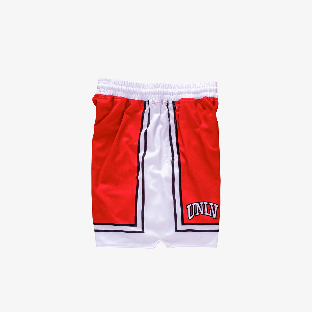 UNLV 1989-1990 Retro College Basketball Shorts - Red