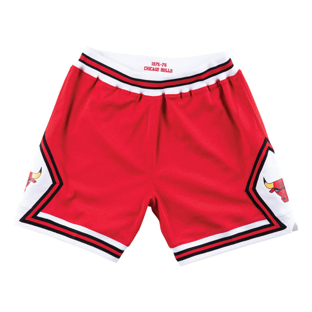 Chicago Bulls 1975-1976 NBA Road Authentic Shorts