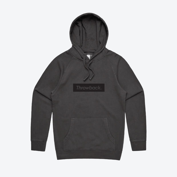 Box Logo Hood - Faded Black