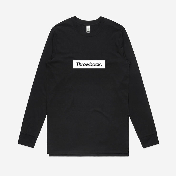Box Logo LS T-Shirt - Black