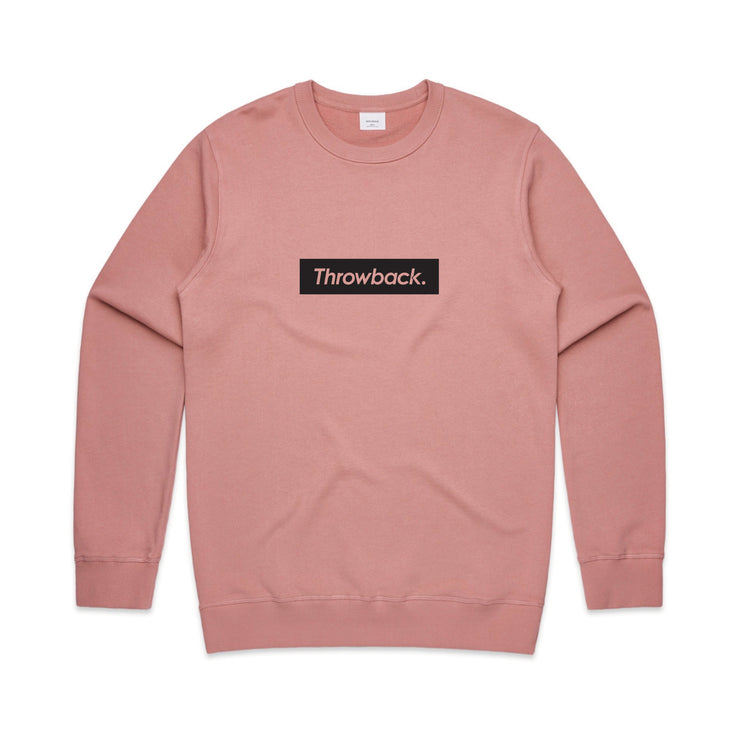 Box Logo Crew - Rose