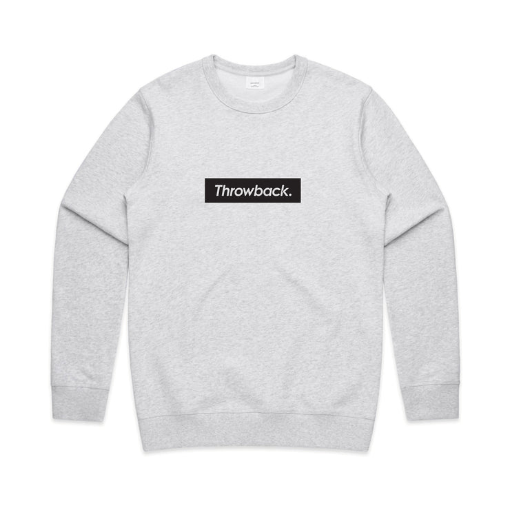 Box Logo Crew - White Marle