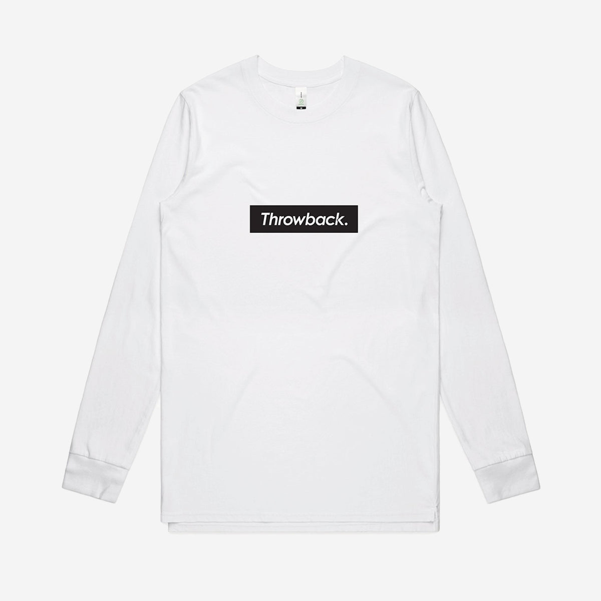 Box Logo LS T-Shirt - White