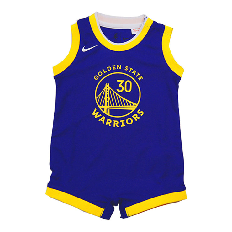 Stephen Curry Golden State Warriors Icon Edition Onesie Swingman Jersey