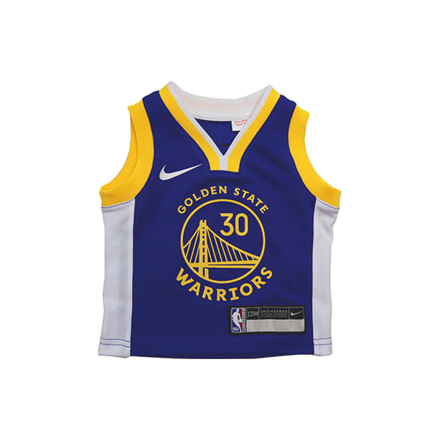 Stephen Curry Golden State Warriors Icon Edition Replica Infant Jersey