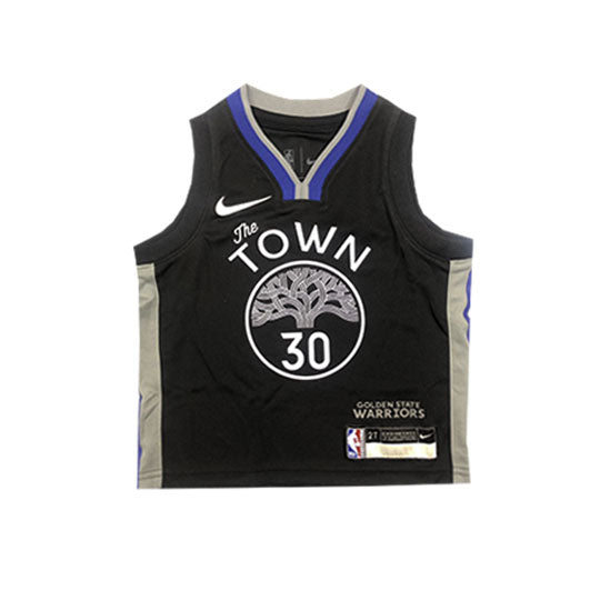 Stephen Curry Golden State Warriors City Edition Toddler Replica Jersey