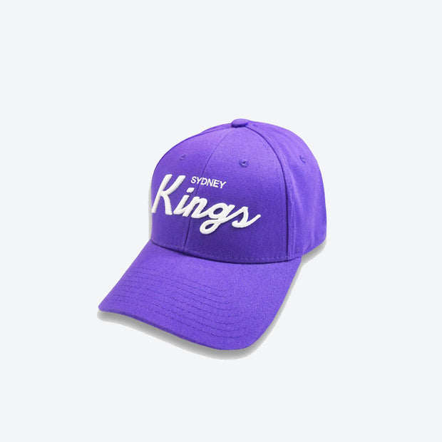 Sydney Kings Curve Brim Snapback - Purple