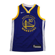 Stephen Curry Golden State Warriors Icon Edition Kids Swingman Jersey
