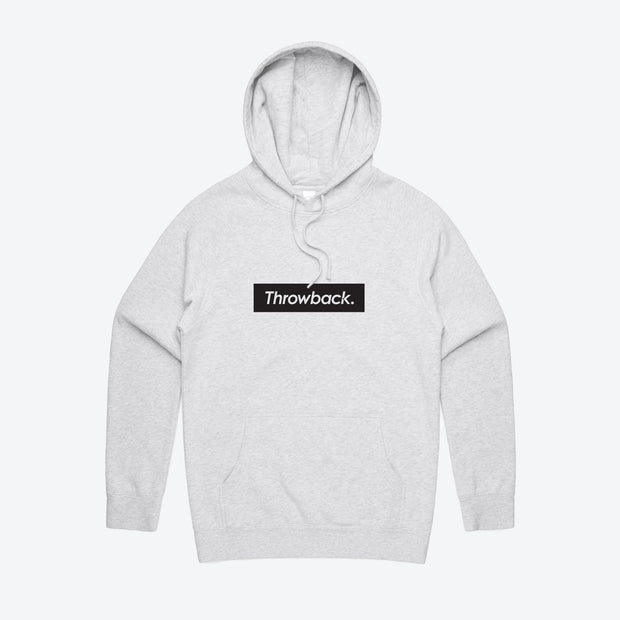 Box Logo Hood - White Marle