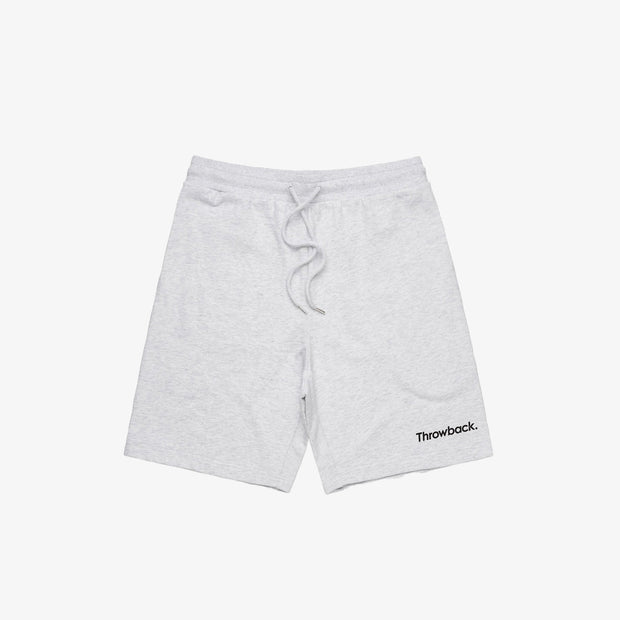Stadium Shorts - White Marle