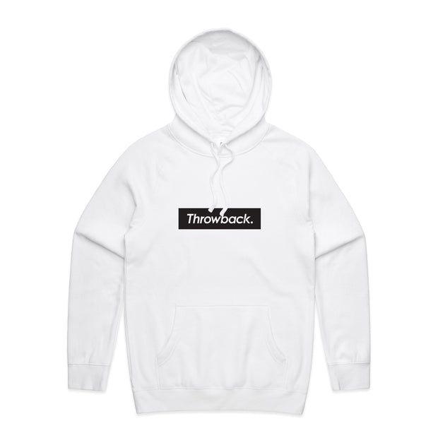 Box Logo Hood - White