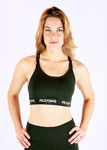 Sleek Criss Cross Sports Bra